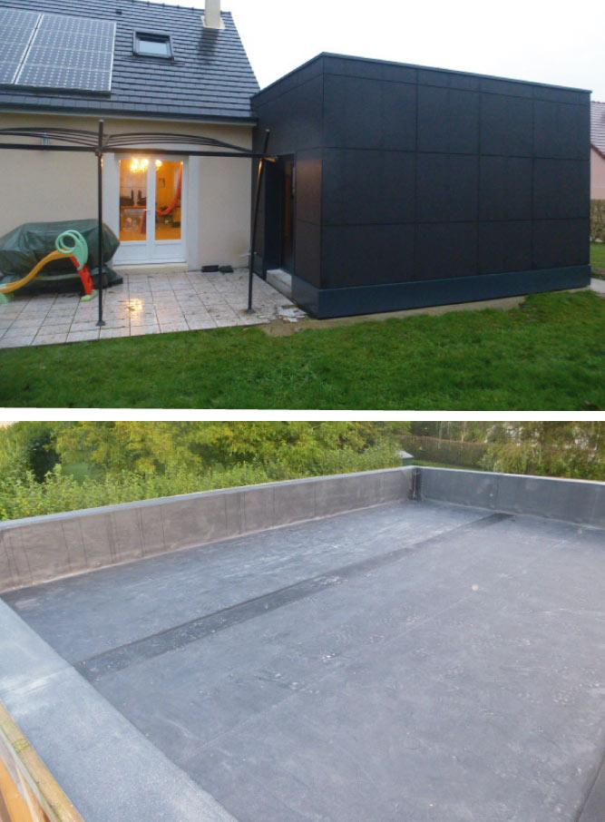 Nos étancheurs réalisent l'étanchéité de votre toiture plate de votre maison aux alentours de La Ferté-Bernard en Sarthe entre Nogent-le-Rotrou et Vibraye via une membrane étanche du type EPDM ou bitume
