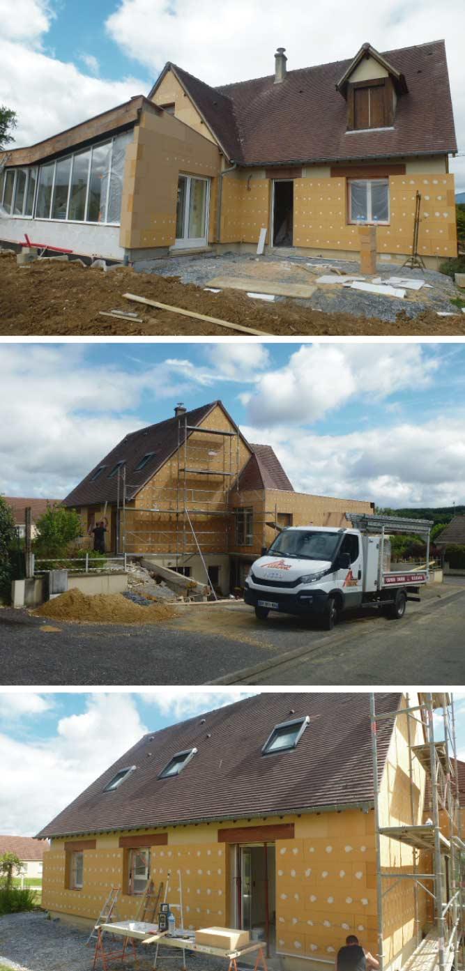Nos poseurs d'isolation intervenant aux alentours de Mamers en Sarthe entre Nogent le Rotrou (Eure et Loir et Alençon (orne) vous conseille d'isoler thermiquement par l'extérieur votre maison ITE afin de réduire la déperdition de chaleur par les murs et les ponts thermiques et afin de réduire votre facture d'énergie (gaz, fioul ou électricité) tout en bénéficiant des aides gouvernementales 2020.